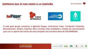 Empresas vinculadas a Antioquia Solidaria