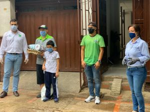 Antioquia solidaria beneficia a comerciantes de Jericó y deportistas antioqueños
