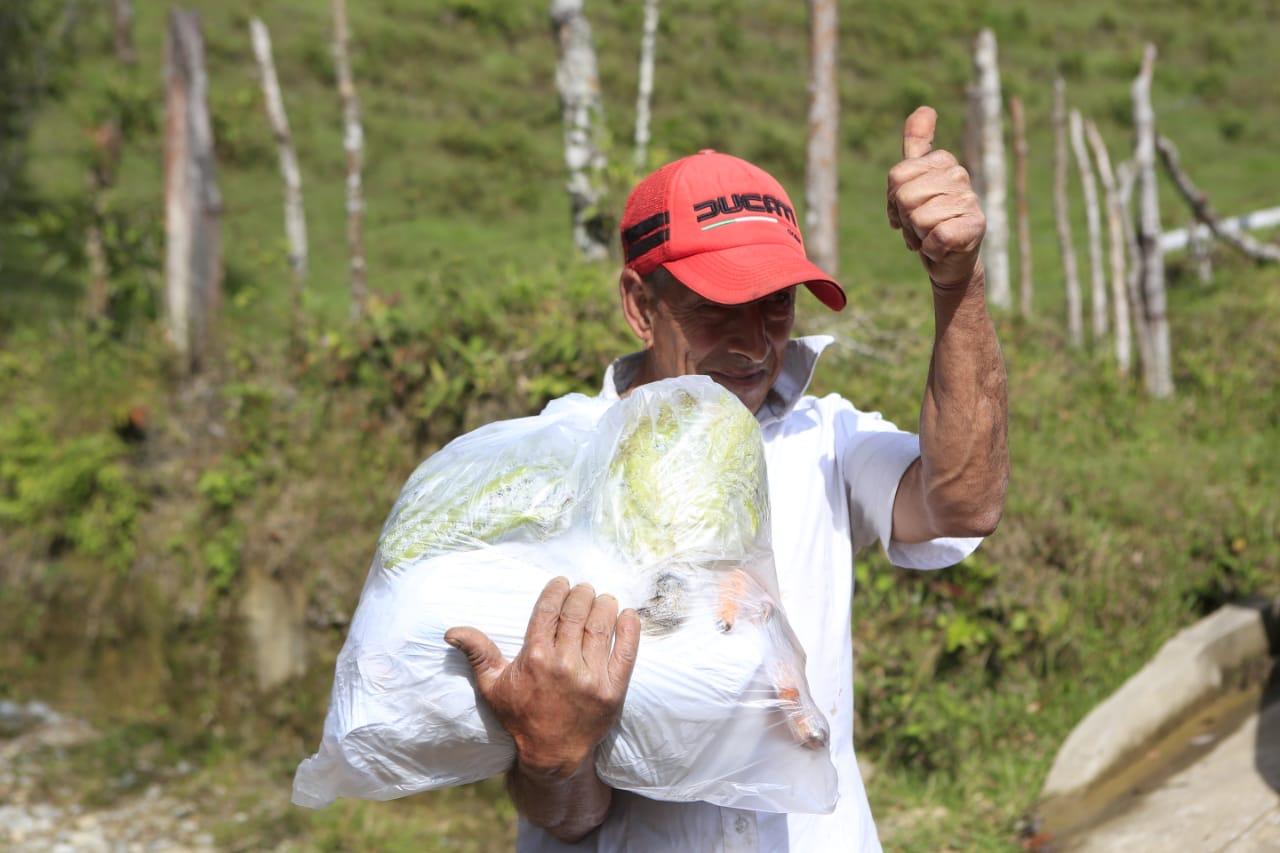 Ayudas llegan a los 125 municipios de Antioquia
