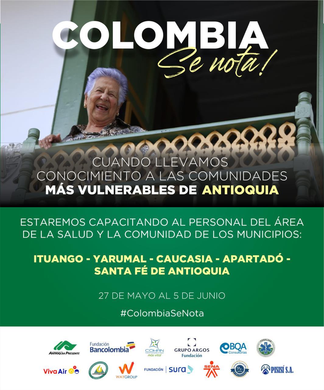 Por Ituago continuan las caravanas humanitaria para llevar capacitación médica a cuatro municipios de Antioquia