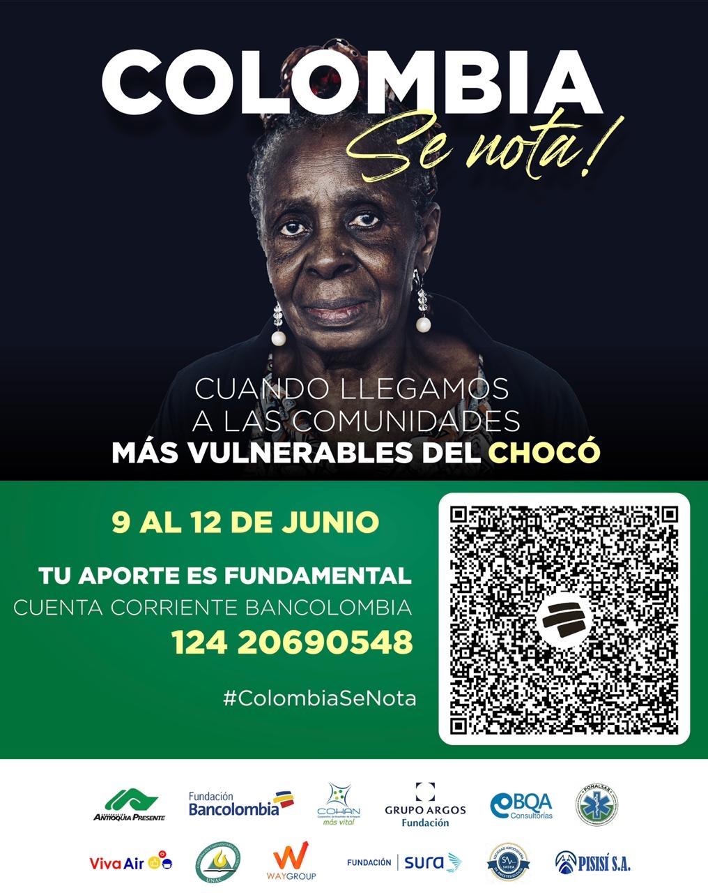 Colombia se nota Misión Chocó