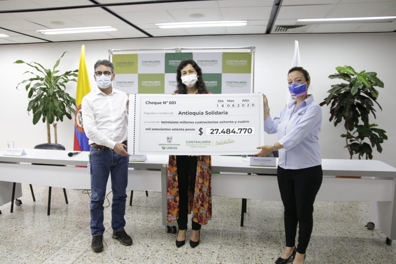 Contraloría General de Antioquia entregará donación a hospitales del departamento