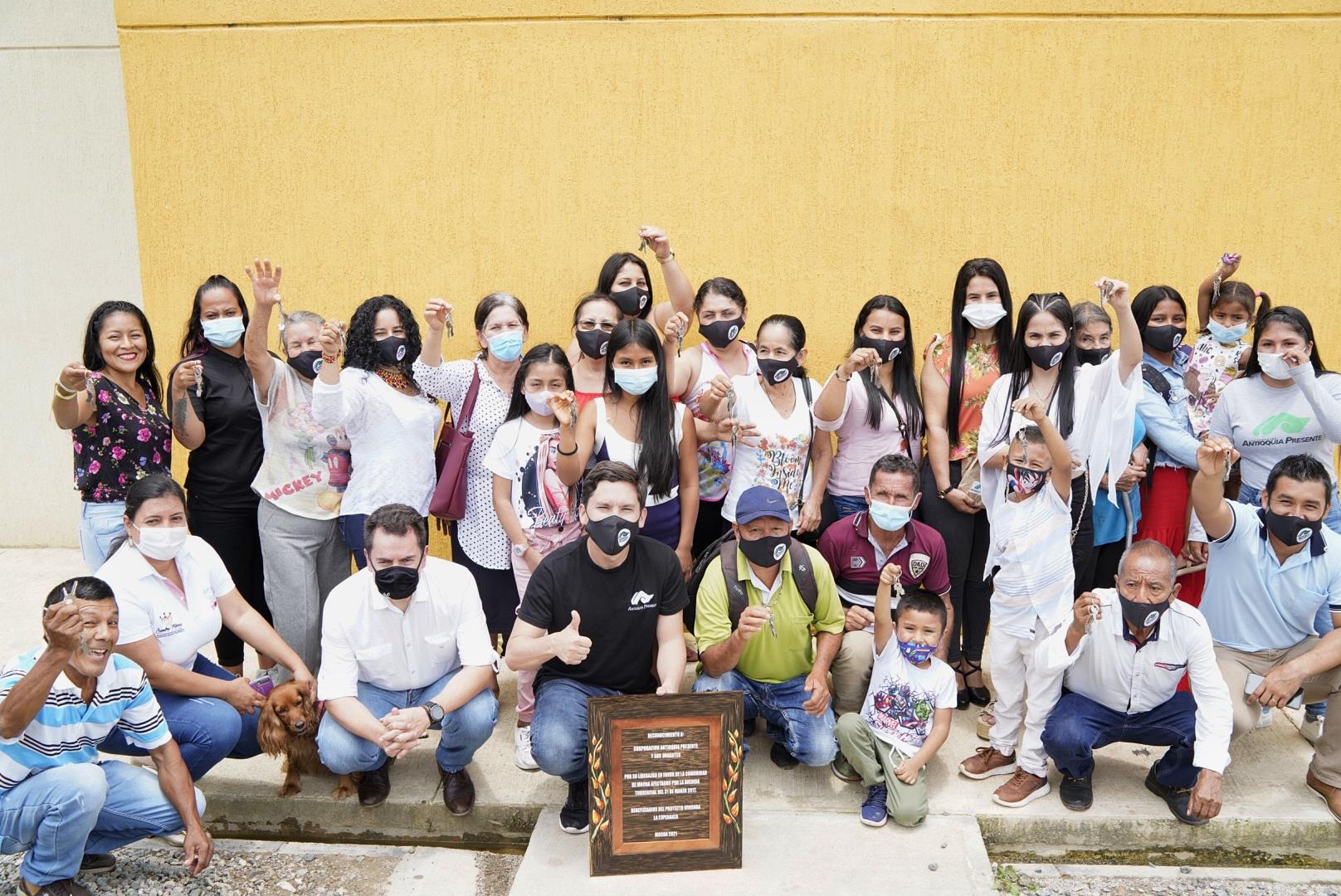 20 familias más con casa en Mocoa